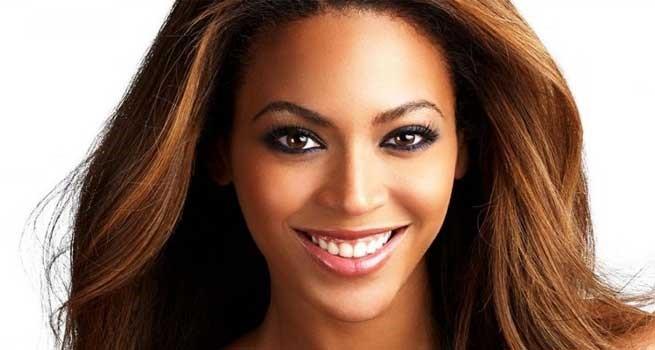 Viso ovale Beyonce