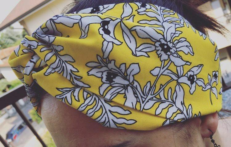 fascia capellifabulosi gialla